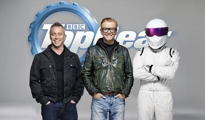 Saltan chispas entre Evans y LeBlanc, estrellas de Top Gear