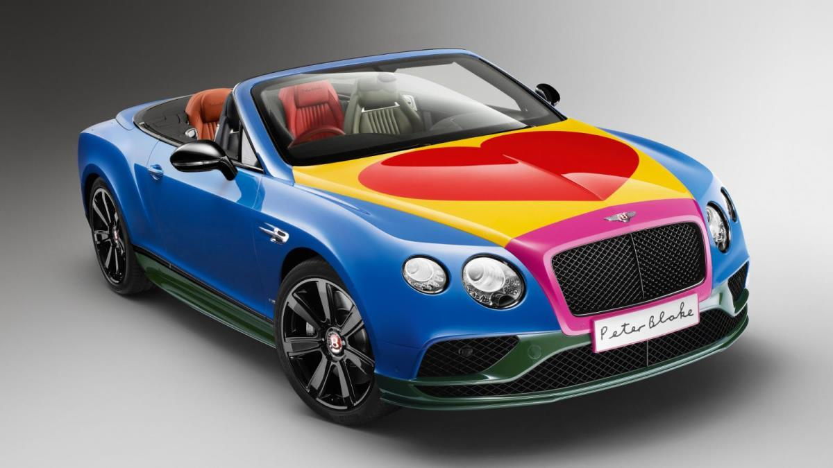 Bentley Continental GT by Peter Blake