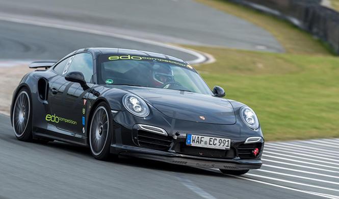 El Porsche más rápido sobre el circuito de Sachsenring