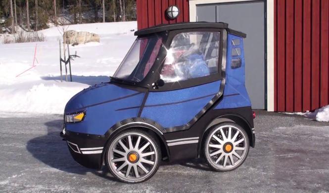 PodRide, así es el divertido coche a pedales sueco