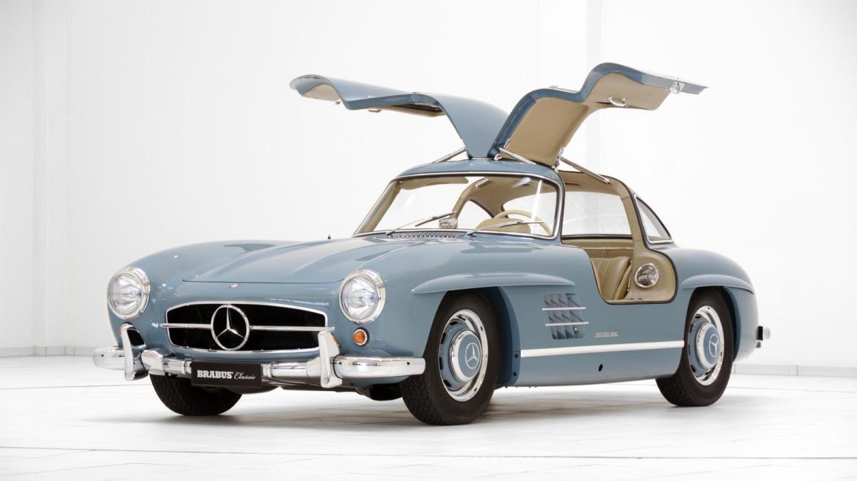 Las restauraciones de Brabus Mercedes 300 SL Gullwing