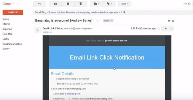 primer truco gmail destinatario leído correo