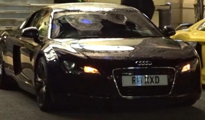 Vídeo: así espanta el Audi R8 a los ladrones...