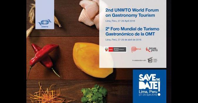 Gastronomía y Turismo, en el II Foro Mundial de Perú