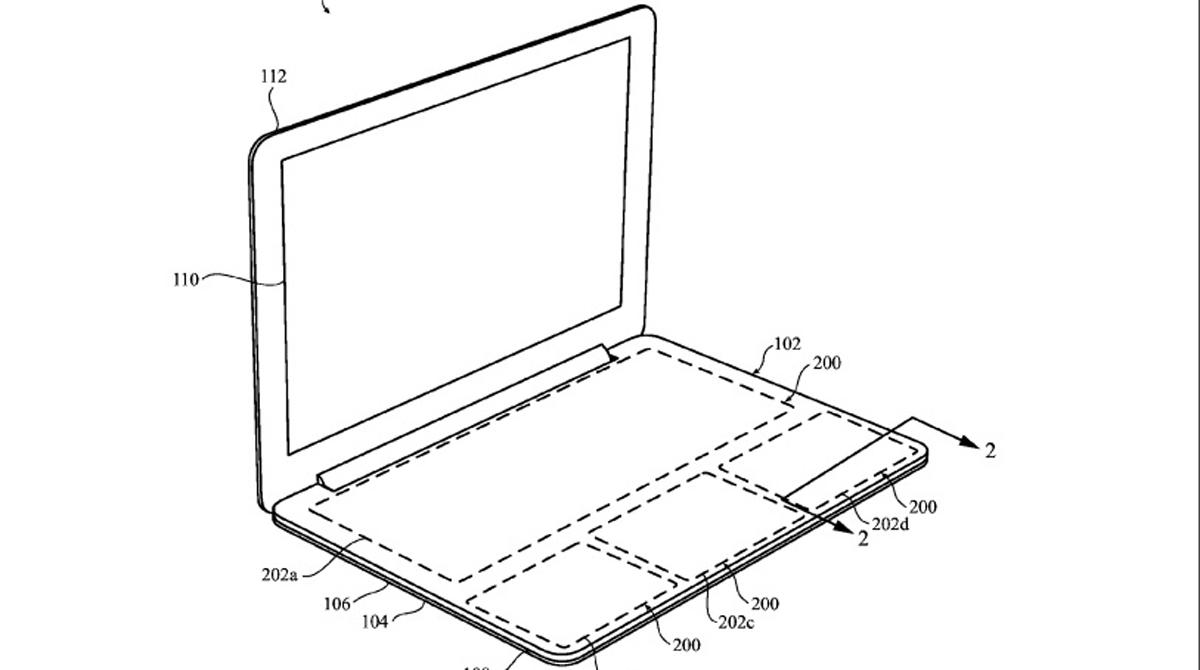 apple registrar patente ordenador sin teclado