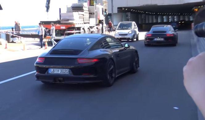 Esto es poderío: cuatro Porsche 911 R rodando en Mónaco