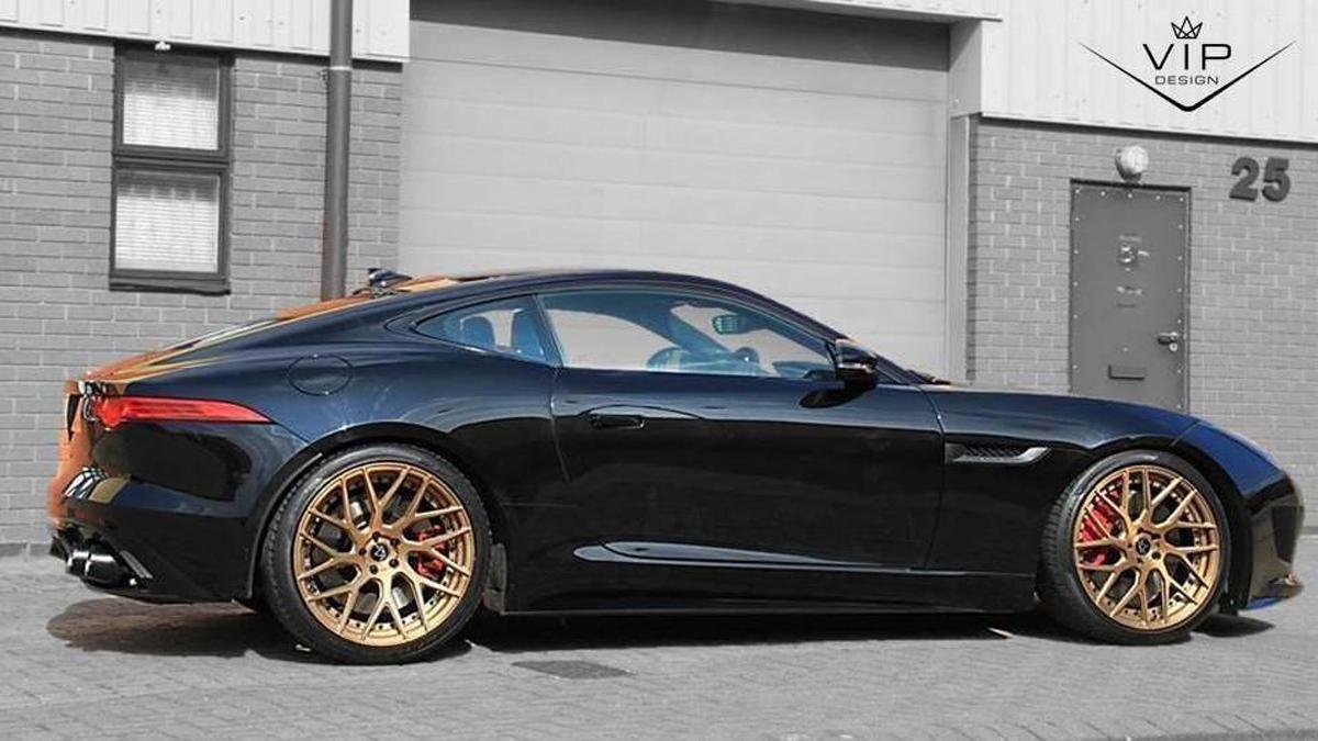 Jaguar F-Type preparado por VIP Design
