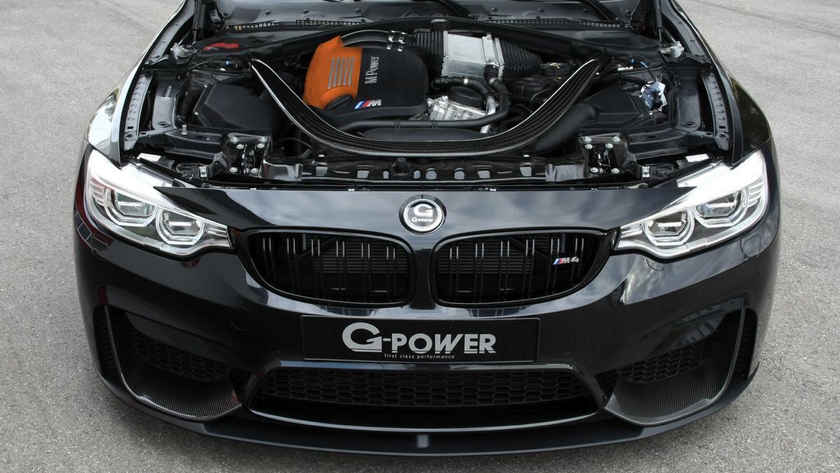 BMW M4 Cabrio G-Power motor