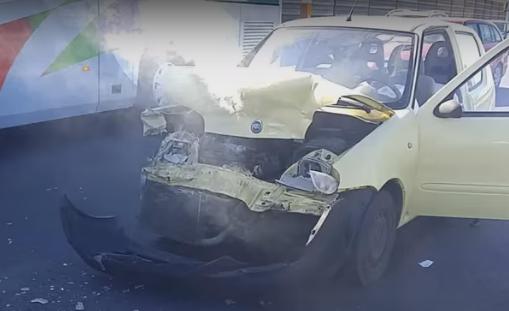 Vídeo: y por estos los Volvo son seguros...