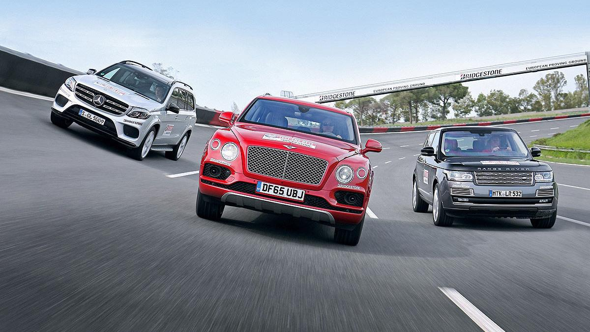 Comparativa:Bentley Bentayga vs Mercedes GLS vs Range Rover