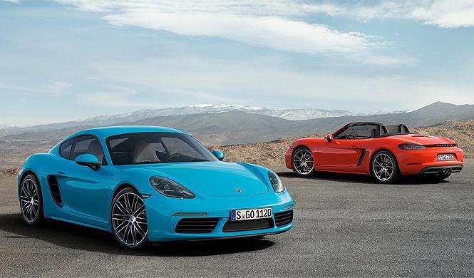 Los cinco equipamientos más caros del Porsche 718 Cayman