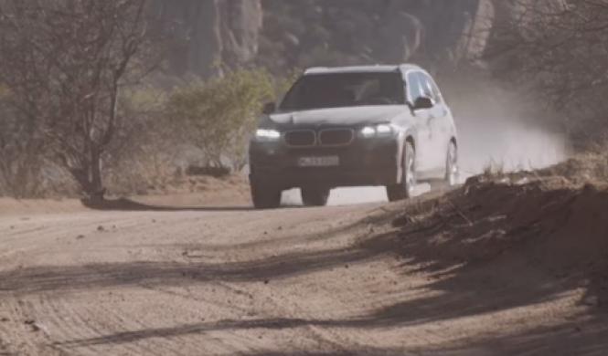 Vídeo: el lado más salvaje del BMW X5