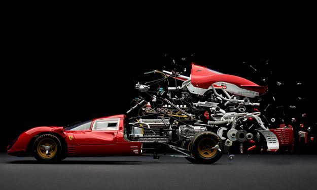 Desintegrándose Ferrari