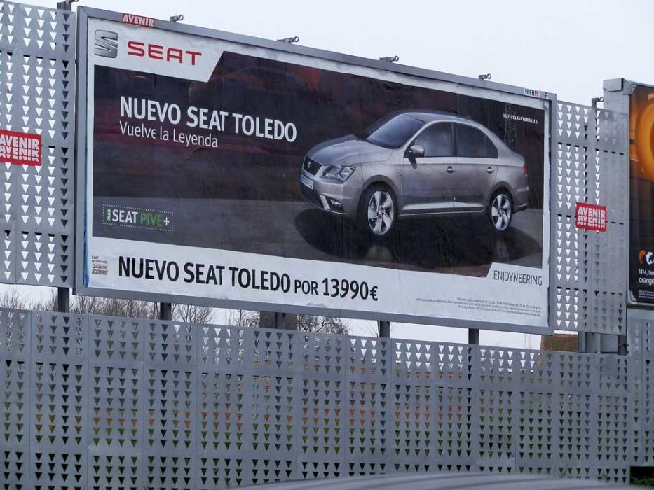 La ciudad donde quieren prohibir los anuncios de coches
