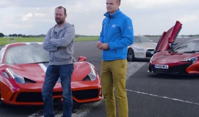 Ferrari 458 Speciale vs McLaren 650S vs nuevo Nissan GT-R