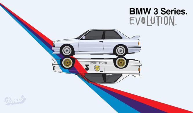 Vídeo: la evolución del BMW Serie 3 en minuto y medio