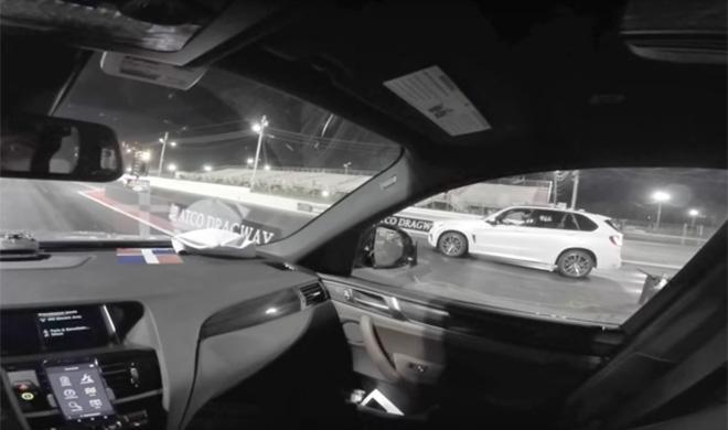 Drag Race entre BMW X4 M40i vs X5 M