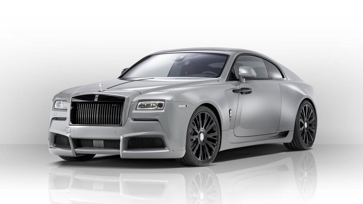 Rolls-Royce Wraith Overdose delantera
