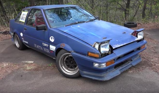 Así eran los Toyota AE86 de 'drift' de los ochenta