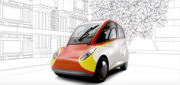 Shell T25: el coche ultraeficiente y reciclable