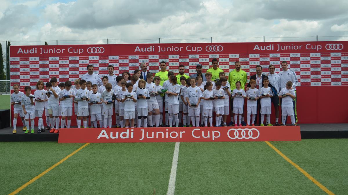 benzema real madrid audi junior cup jugadores