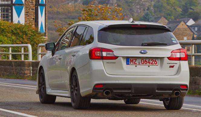 Subaru Levorg STi: muy pronto será una realidad