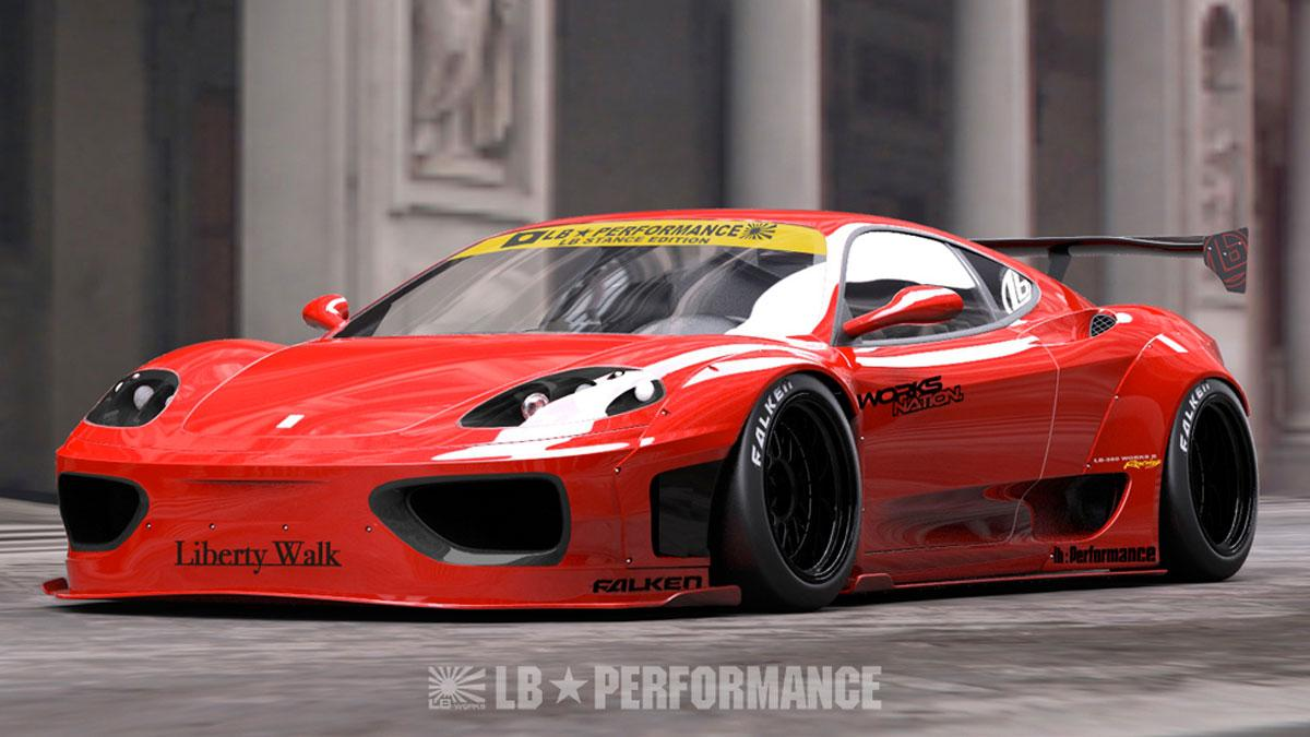 Ferrari 360 Liberty Walk