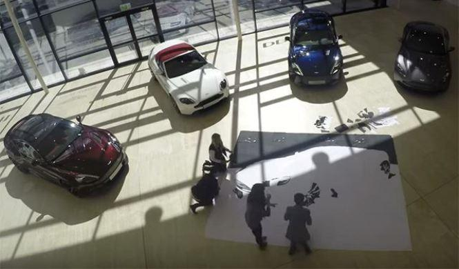 Vídeo: un Aston Martin Vanquish de cuero y piel