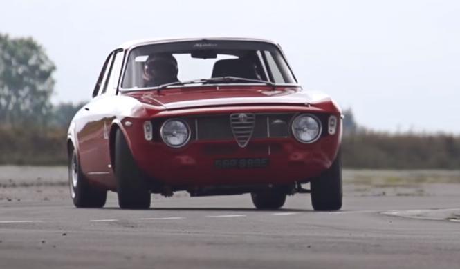 Vídeo: súbete al bestial Giulia clásico de Alfaholics