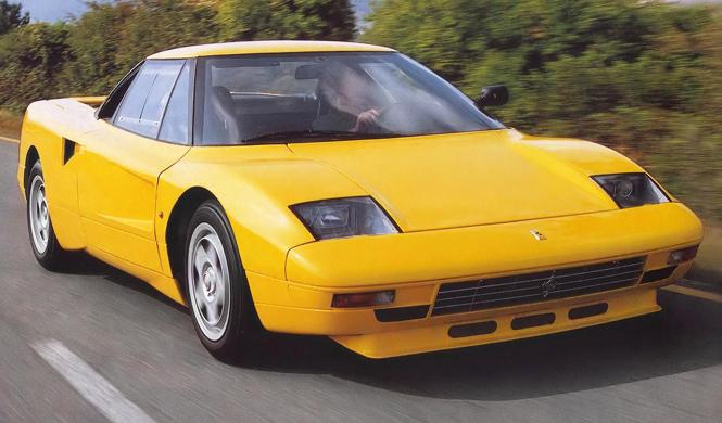 Prototipos abandonados: Ferrari 408 4RM de 1987