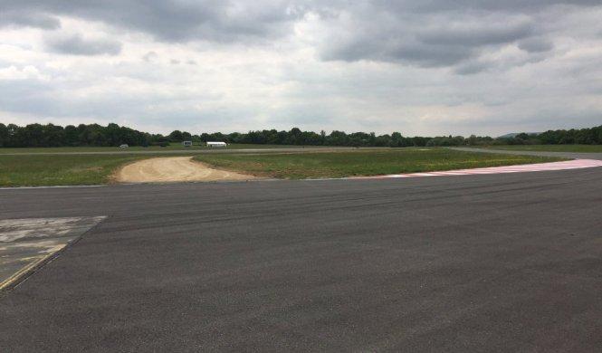Sección de Rallycross en el circuito de Top Gear