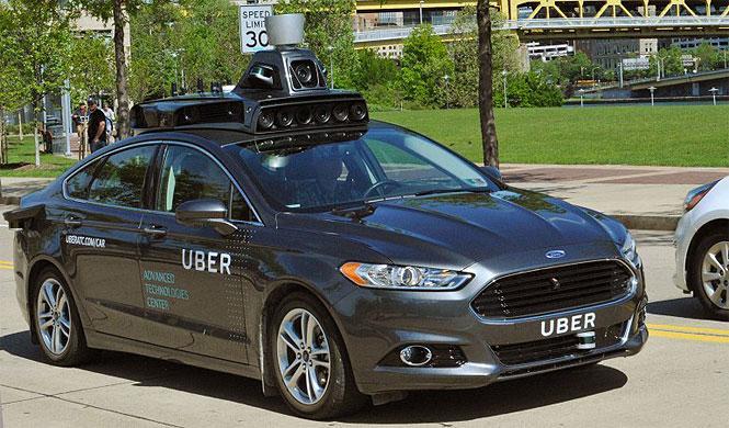 Uber prueba su primer coche autónomo