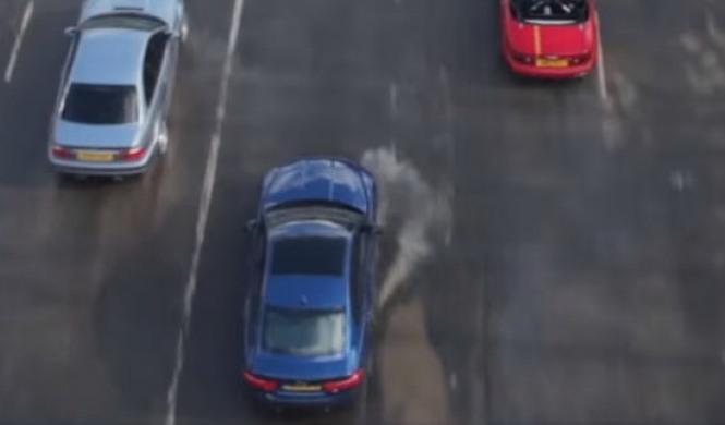 ¡Toma drag race!: Mazda MX-5 Turbo vs BMW M3 vs Jaguar XE S