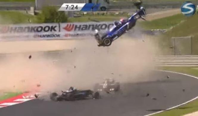 Vídeo: brutal accidente en la Fórmula 3