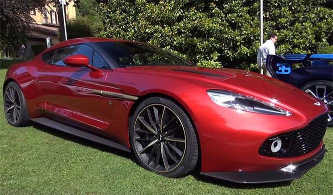 Cómo es de cerca el Aston Martin Vanquish Zagato