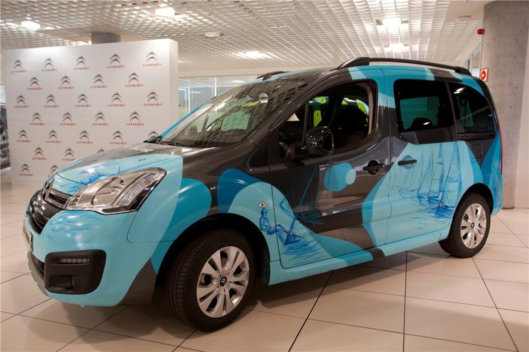 Citroën Berlingo 20 Aniversario personalizada por Iker Martínez