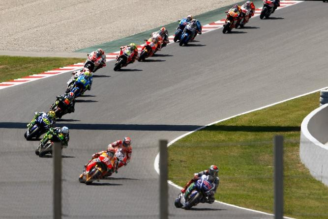 Los horarios de MotoGP, Catalunya 2016
