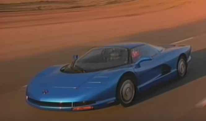 CERV III: el prototipo GM de 1990 que quieres para ti hoy
