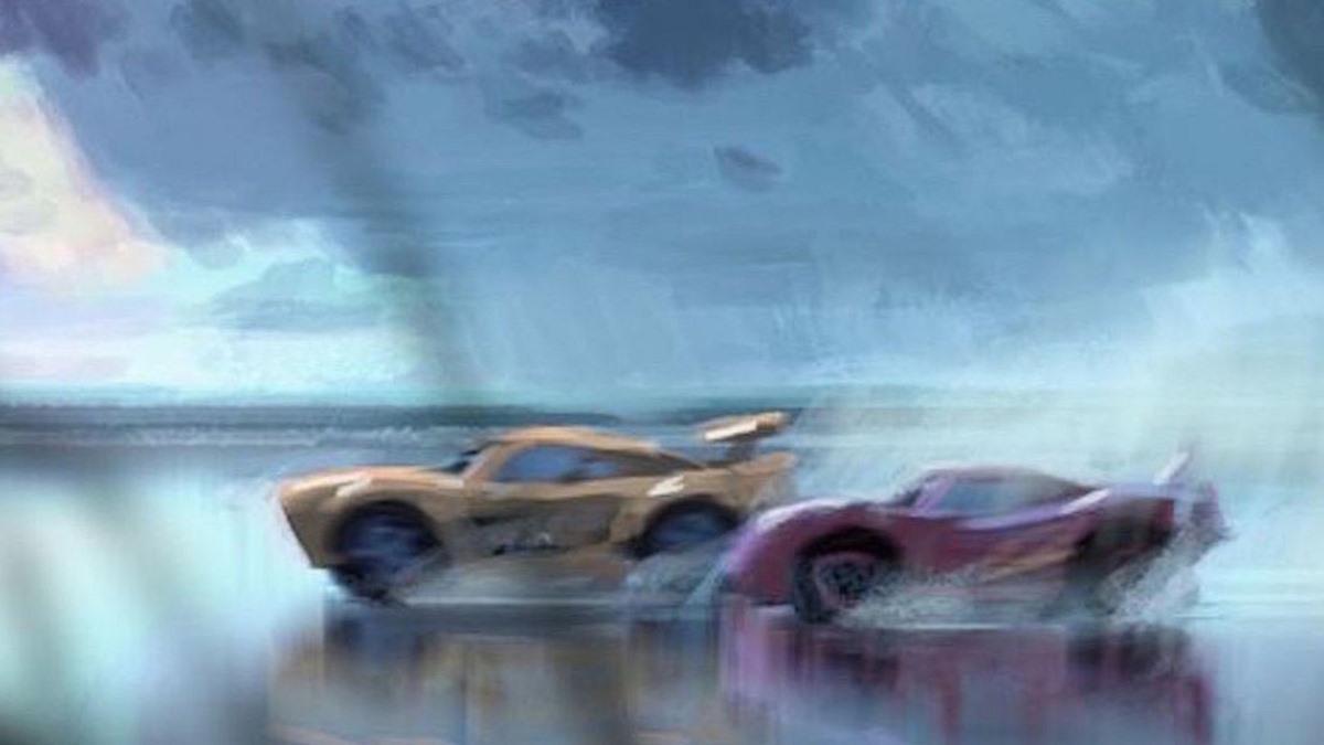 Bocetos Cars 3