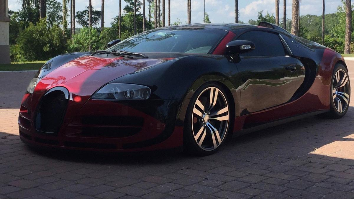 subasta réplica Bugatti Veyron