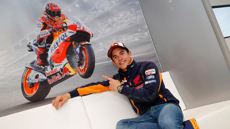 Marc Márquez renueva con Honda hasta 2018
