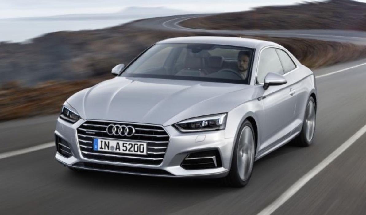 Nuevo Audi A5 Coupé 2017: Diseño evolutivo y más eficiencia