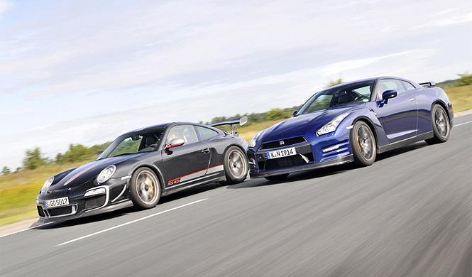 Vídeo: Porsche 911 Turbo S vs Nissan GT-R, la batalla final
