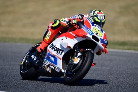 Andrea Iannone saldrá último en la carrera de Assen