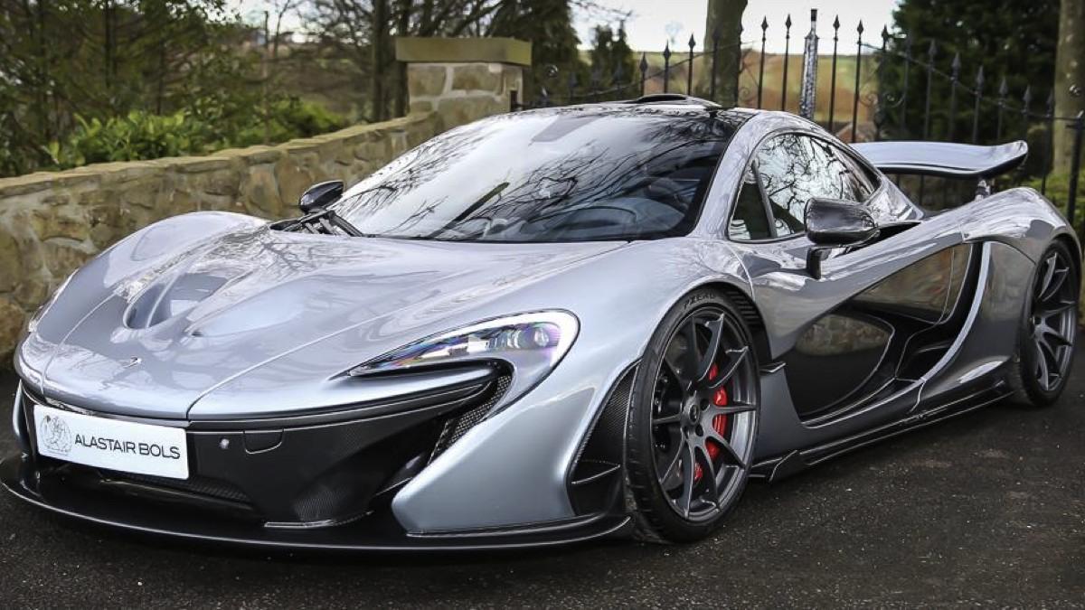McLaren P1 plateado a la venta