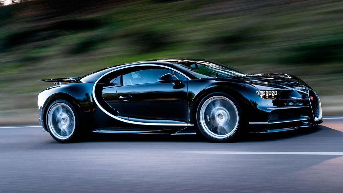 Bugatti W16 chiron