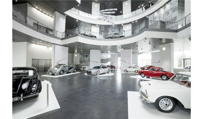 El Audi Museum Mobile acoge una colección de 12 coupés