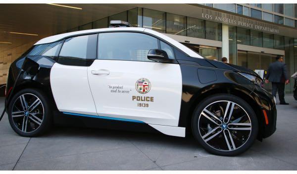 BMW i3 para la policía de Los Ángeles