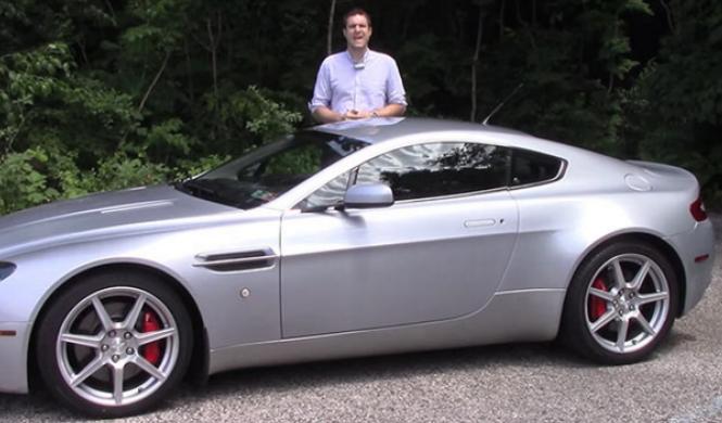 Echa cuentas: ¿puedes mantener un Aston Martin V8 Vantage?