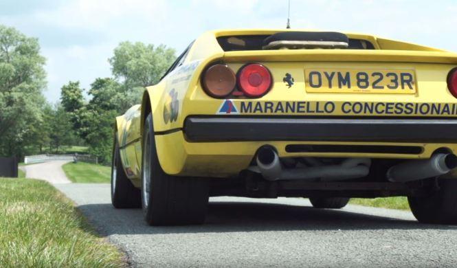 Vídeo: ¿un Ferrari 308 GTB del Grupo B de rally?